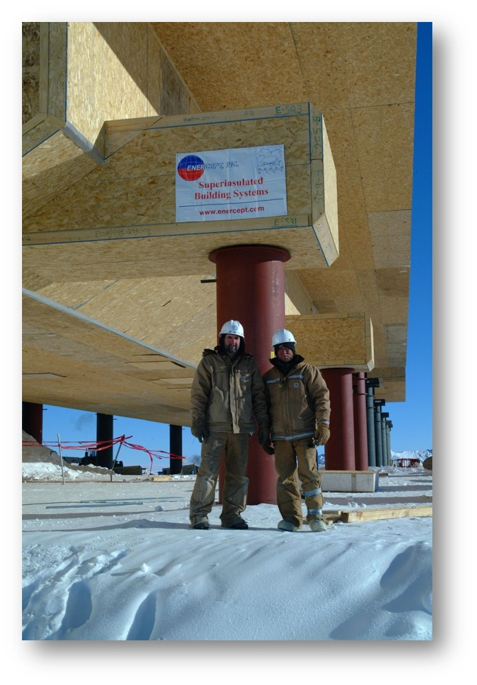 Enercept SIPS at the South Pole