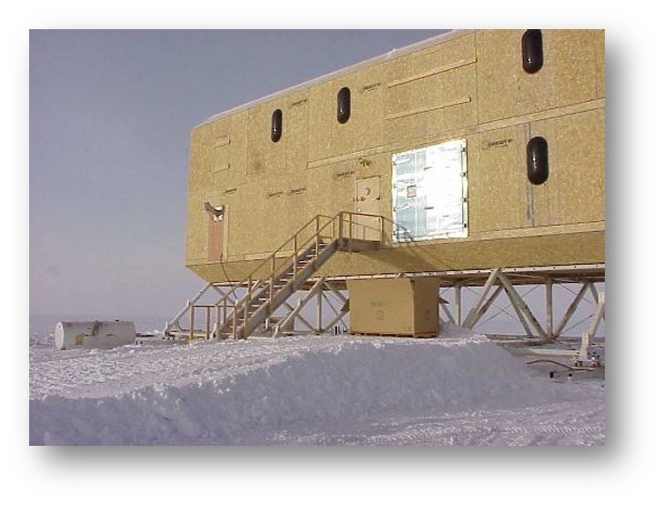 Enercept SIPs at the south pole building