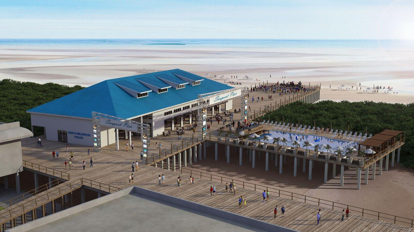 seaport pier rendering