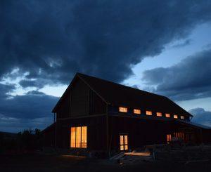 Tippet Rise Arts Center's Olivier Barn
