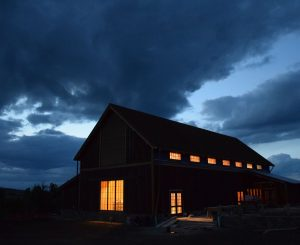 Tippet Rise Arts Center's Olivier Barn